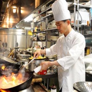 本場の中国料理人