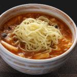 酢辛味五目麺